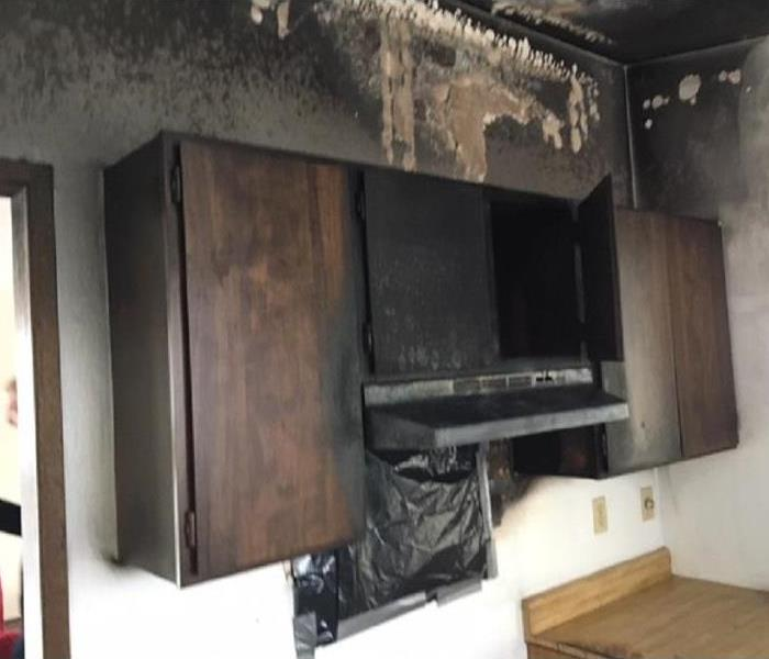 Fire Damage What To Do If A Cooking Fire Starts in your kitchen in Spokane or Spokane Valley